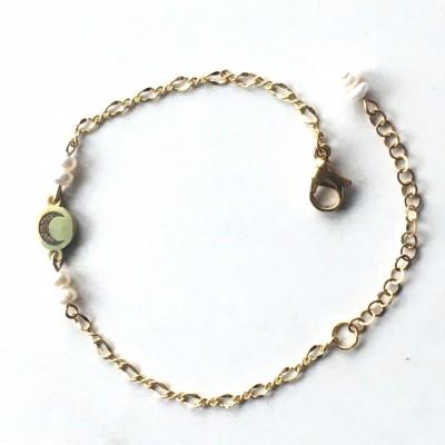 Bracelet chaîne Or