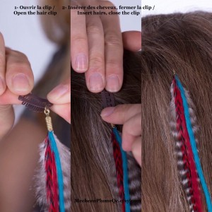 Hair Feather Extension - Moonshadow Fairy